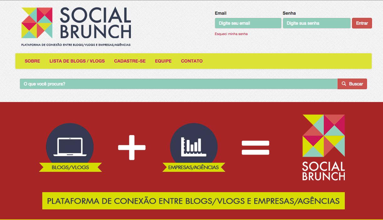Plataforma de influenciadores focada no mercado brasileiro. Usa o índice Klout para mostrar a influência do usuário.