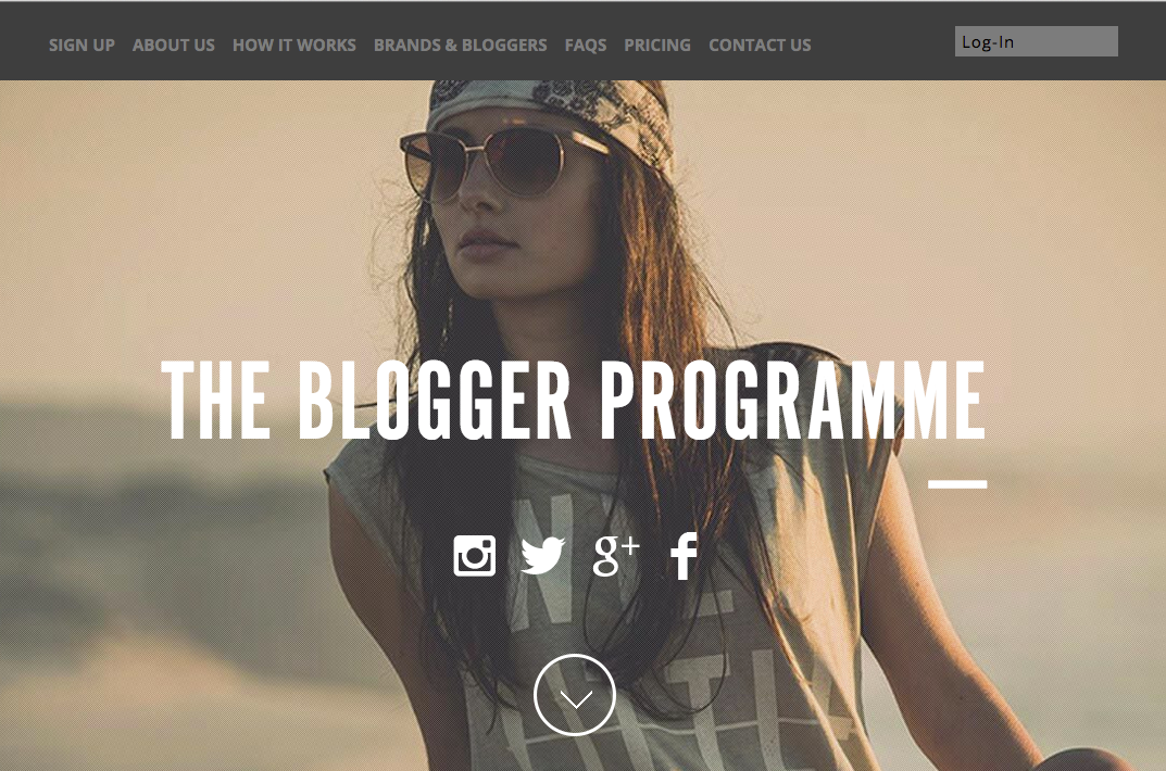 Login_Page___The_Blogger_Programme
