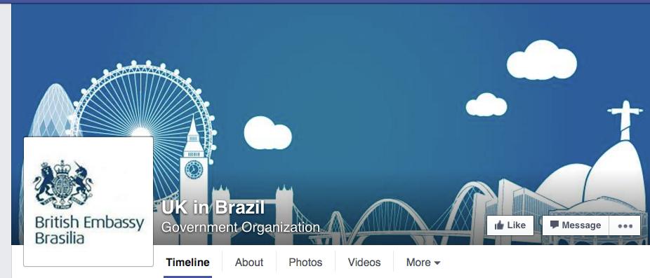 Foto de capa da Embaixada da Inglaterra