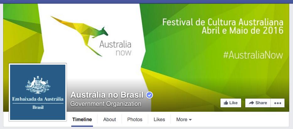 Foto de capa da Embaixada da Austrália