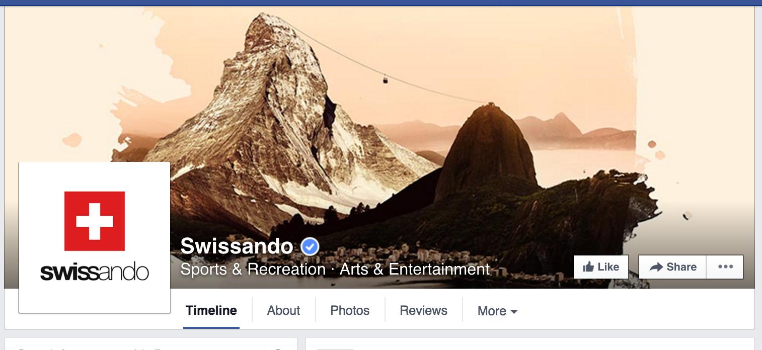 Foto de capa da Embaixada da Suíça no Brasil.