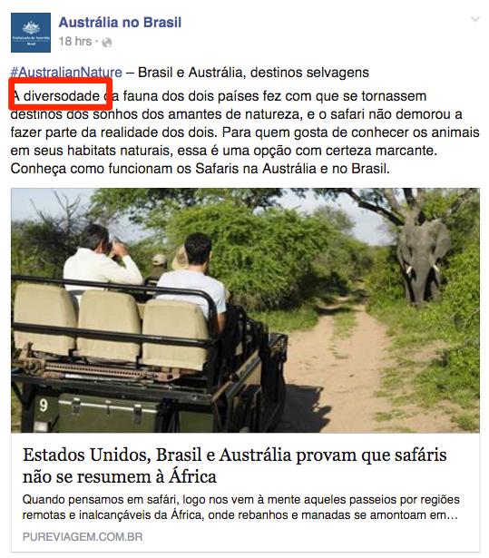 Importante ficar atento ao português .