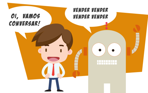 Inbound (à esquerda) x Outbound (direita): os diferentes tipos de marketing