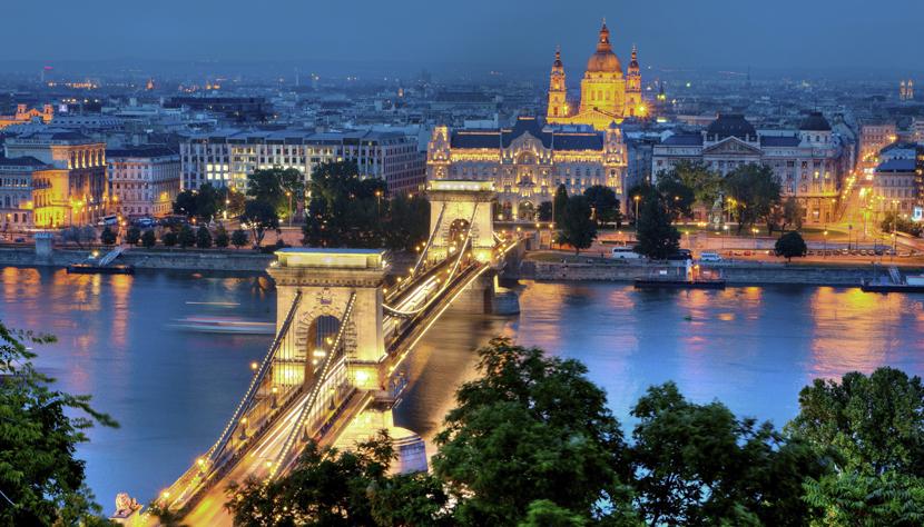 Paisagem da Hungria.